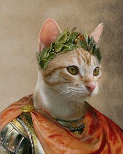Caesar - Cat - Cute Pet Portrait