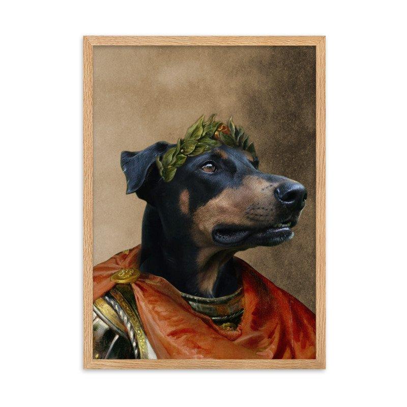 Caesar Pet Portrait - Cute Pet Portrait - Dog Portrait