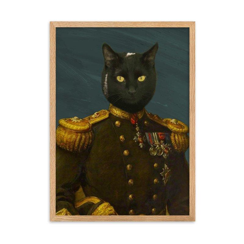 The General - Cute Pet Portrait