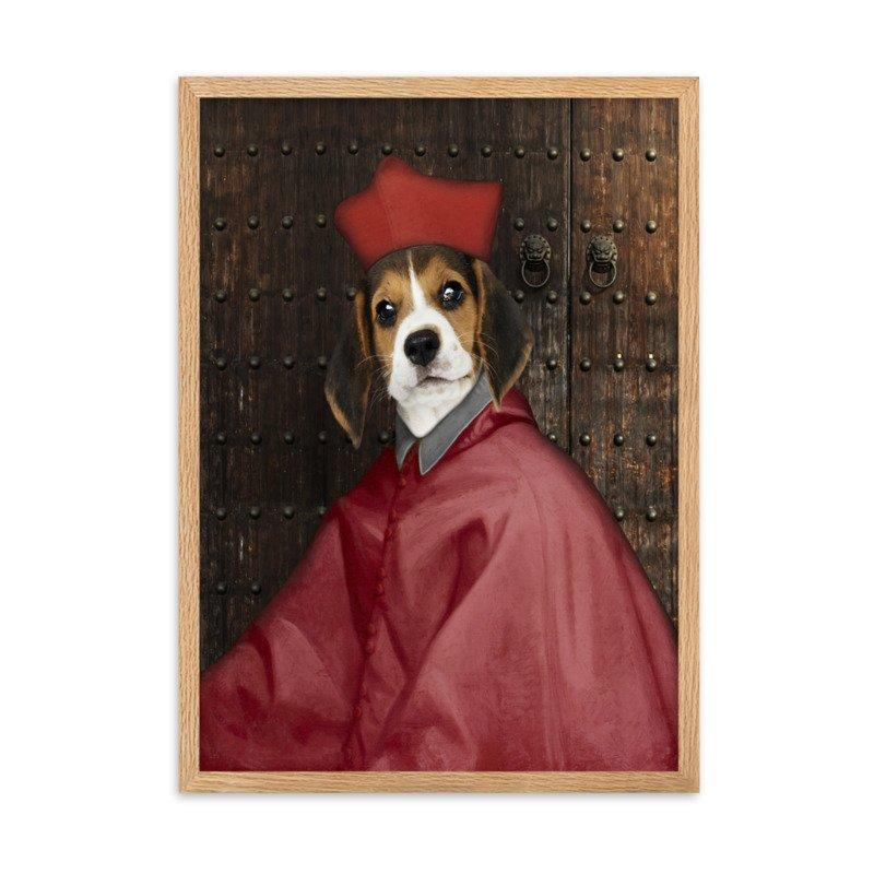 The Spanish Inquisition - Custom Pet Portrait - Cute Pet Portrait