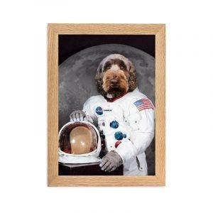 Pet Portrait - The Astronaut