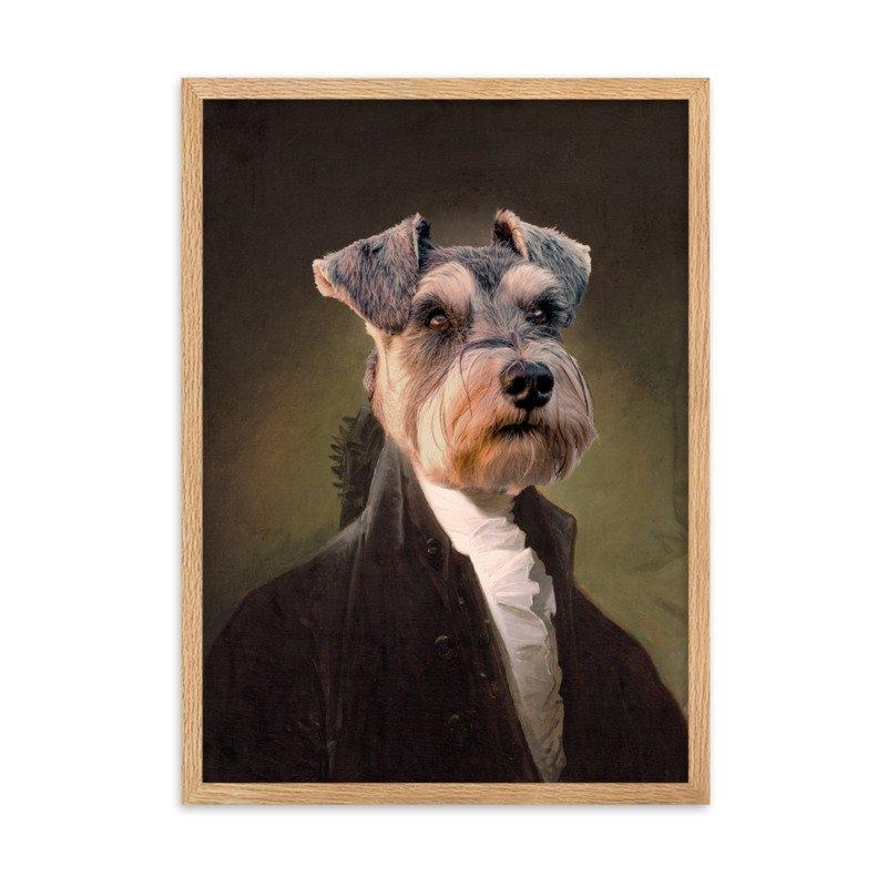 George Washington - Cute Pet Portrait - Custom Pet Portrait
