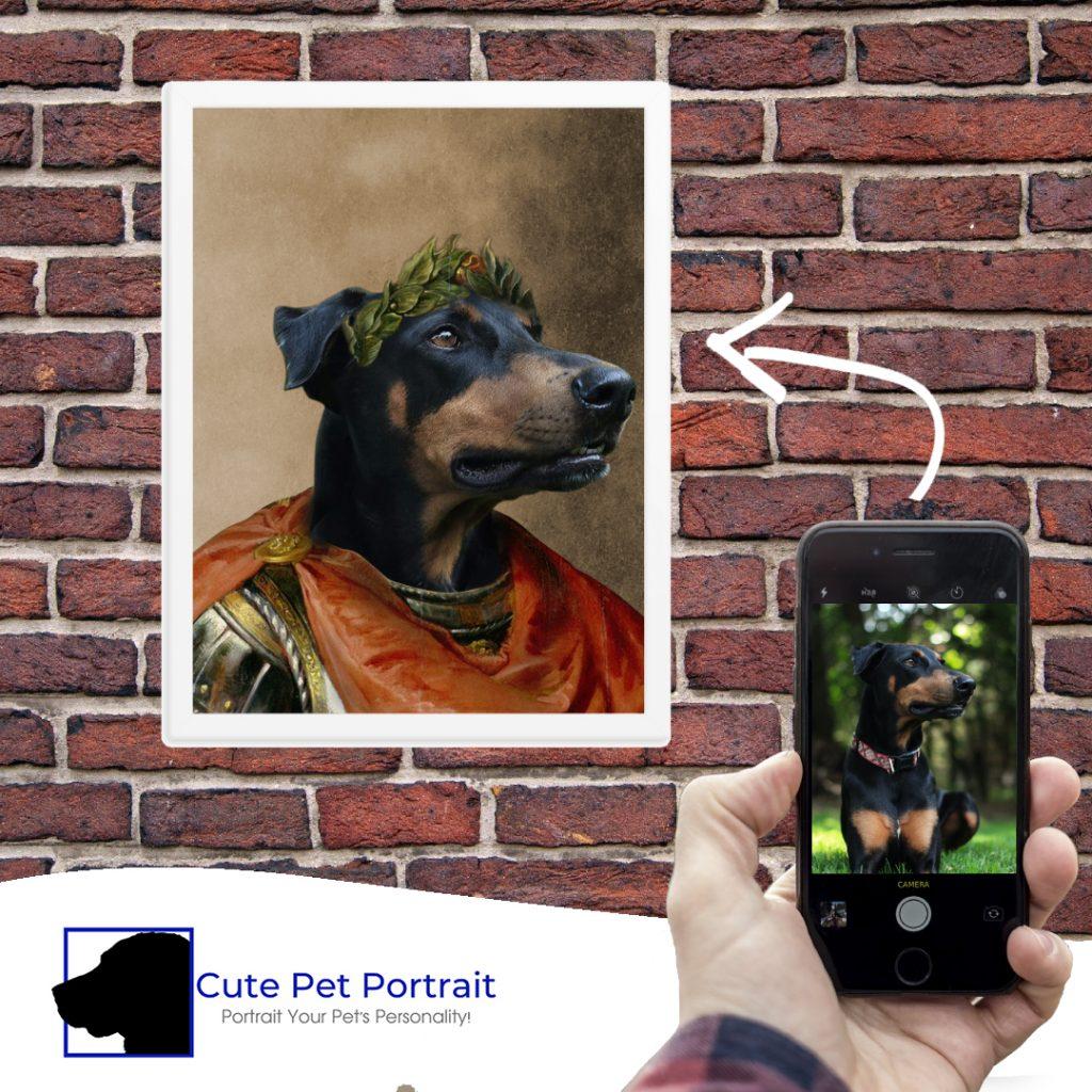 Dog Portrait - Cute Pet Portrait