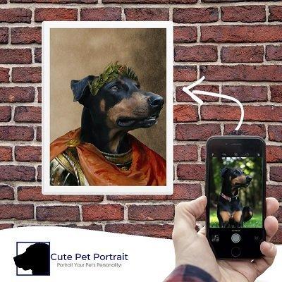 Custom Pet Portrait - Cute Pet Portrait - How It Works