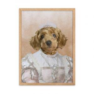 Female Pet Portrait - The Princess