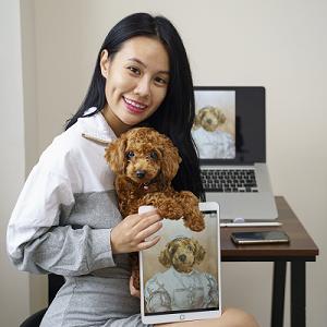 Cute Pet Portrait - Customer Review